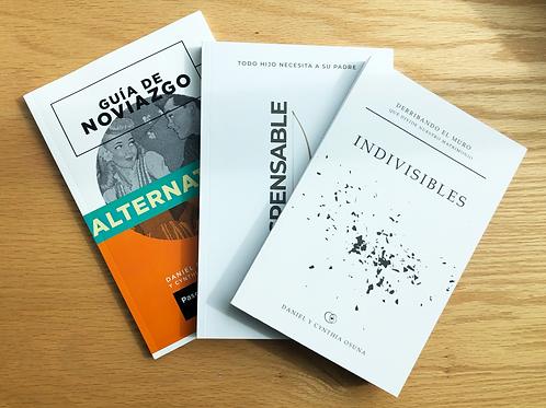Paquete de 3 libros