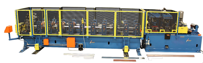 ASC Pre-Punch Post-Cut Channel Rollforming Line