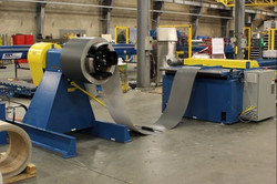 ASC Single Trim Rollformer - coil fe