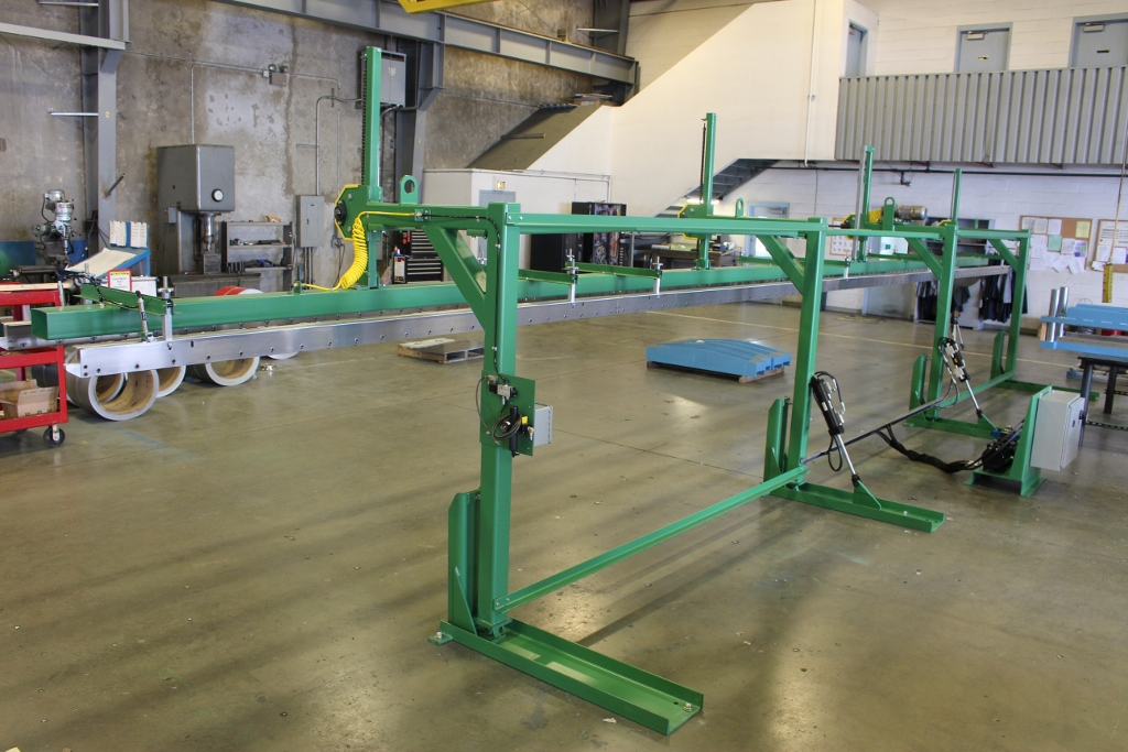 Dual Height Magnetic Stacker with tilt