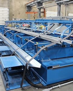 CZ Purlin Stacking System ASC Machien To