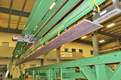 Bar fed and Coil fed flange lines
