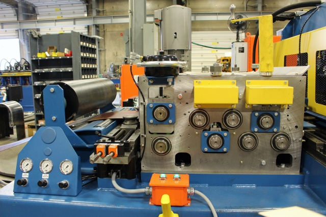 Asc Custom Purlin Rollforming Lines For Solar Industry