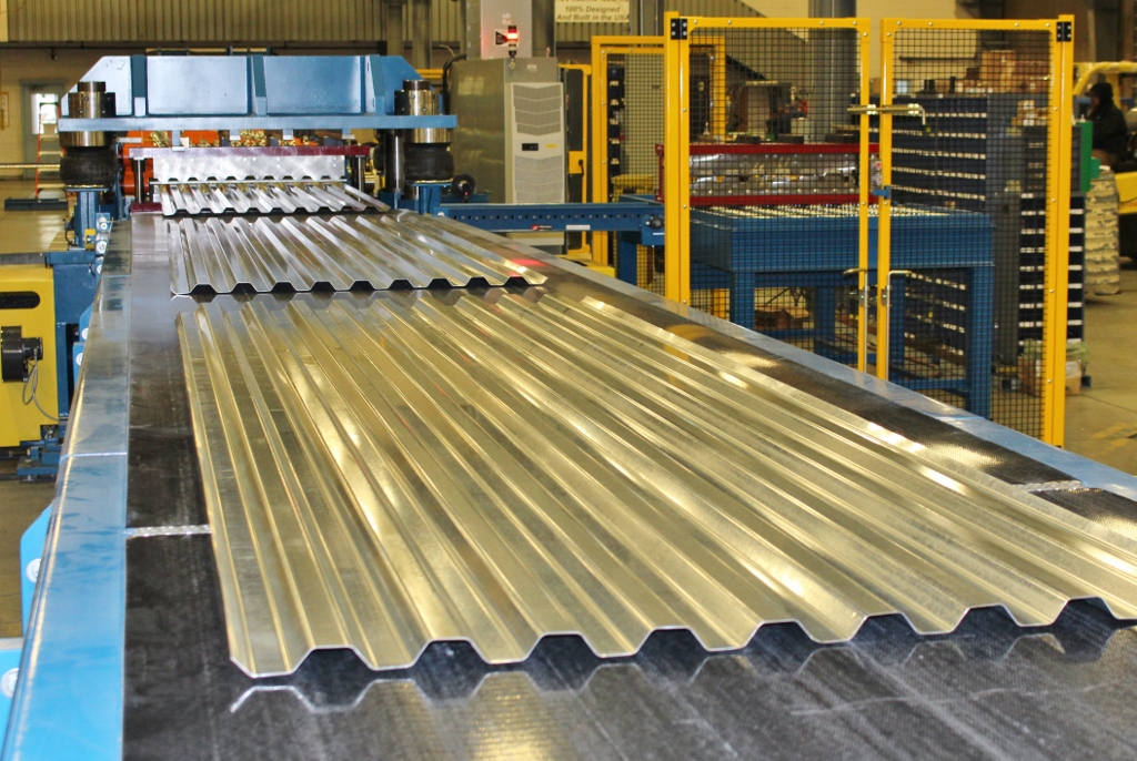 ASC Roof and Floor Decking Line
