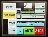 ASC Technofold Brake Touchscreen