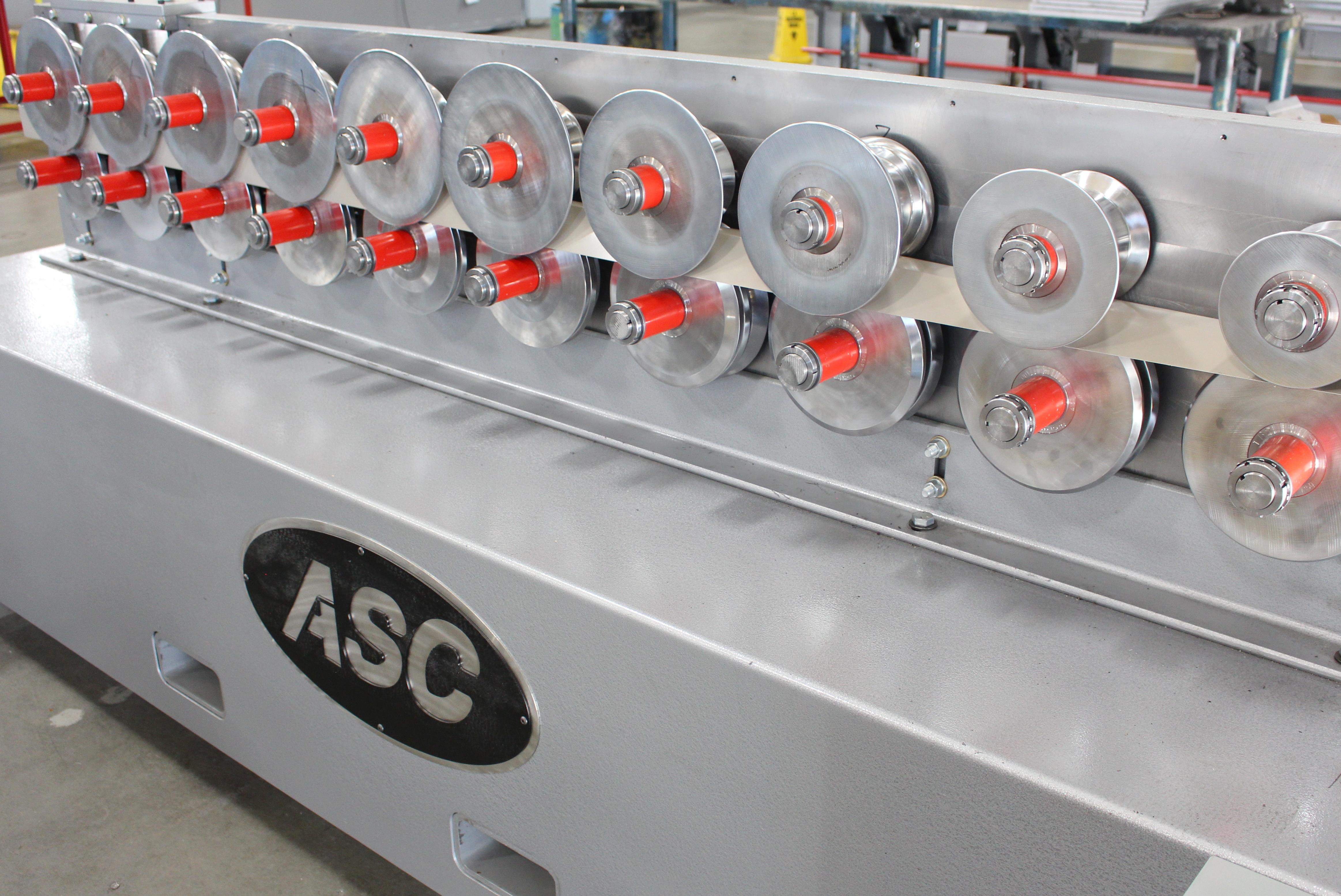 ASC Single Trim Rollformer - Wall Style