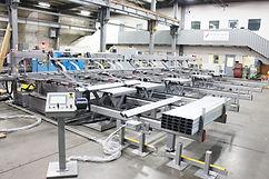 Side Transfer Conveyor Purlin Stacker