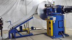 Double Arm Uncoiler with Laserloop