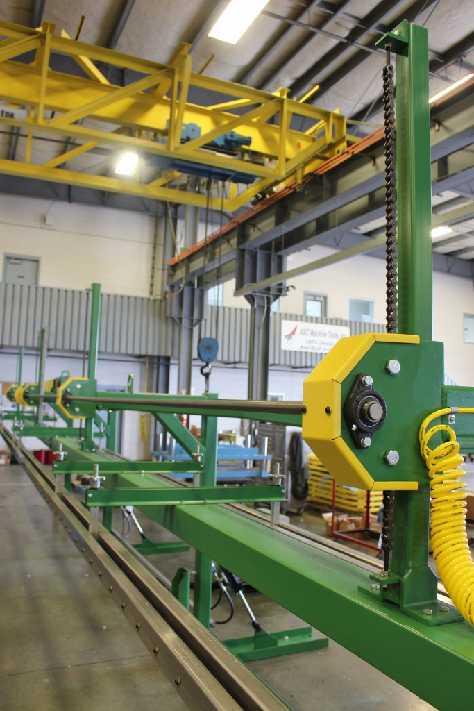 ASC Magnetic Panel Stacker with tilt