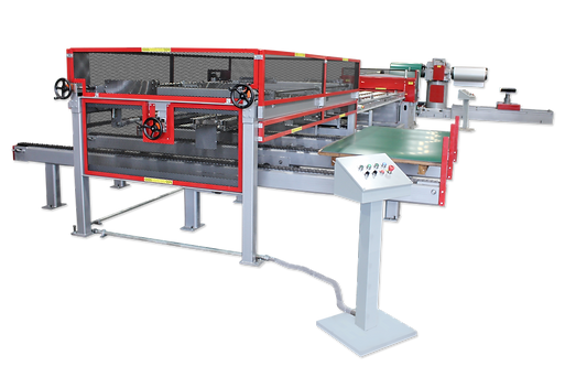 ASC CTL-Slit Line with Flat Sheet Stacki