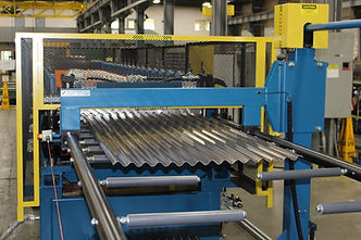 ASC Roller Drop Stacker Panel