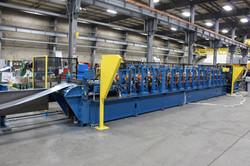 Grain in Stiffener Rollforming Line