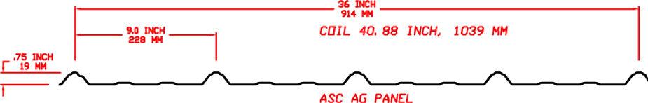 AG Panel Profile Rollformer