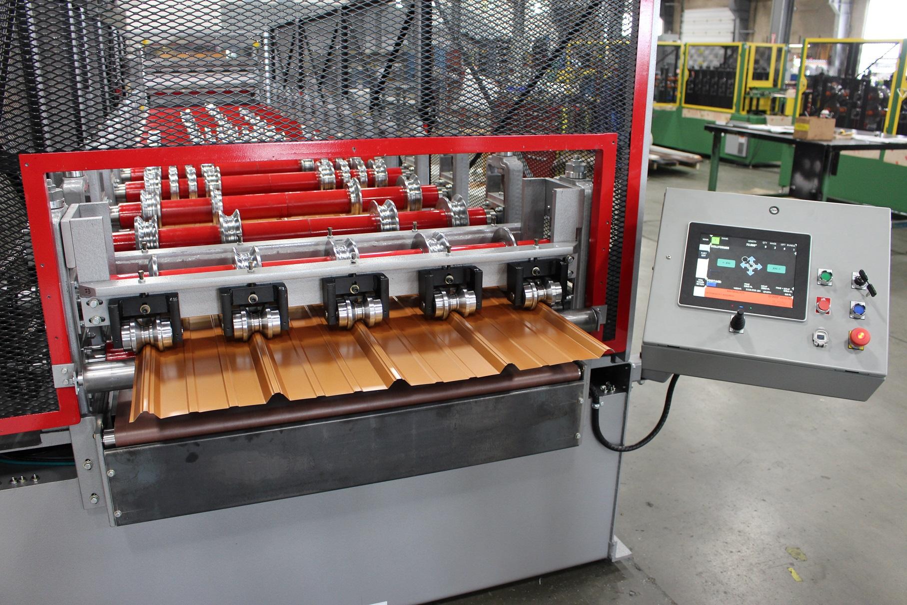 Alpha Series Pre Cut Rollformer