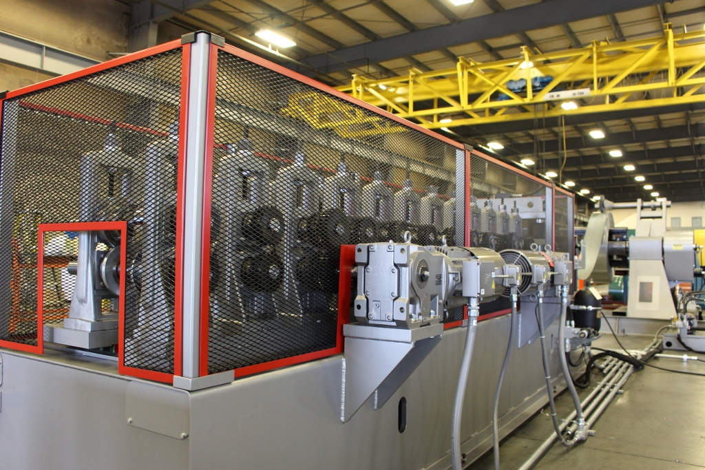 ASC VARIABLE WIDTH ROLLFORMING LINE