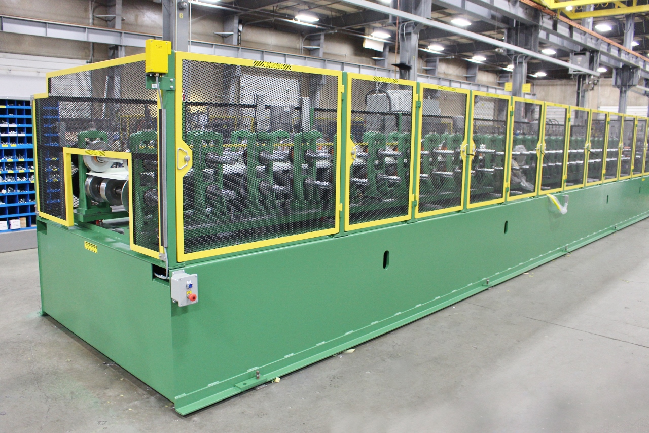 ASC Garage Door Panel Rollforming Line (