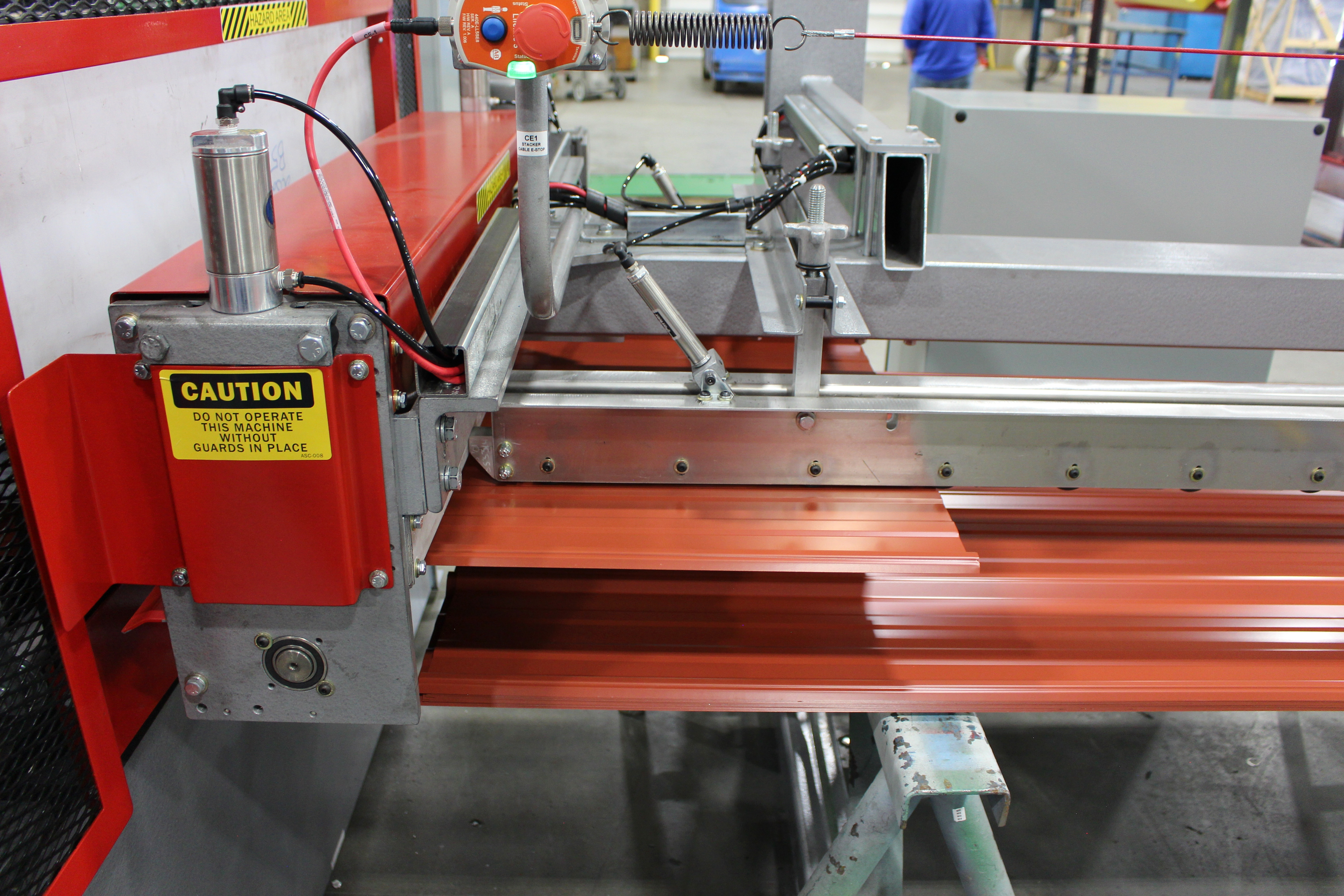 ASC Magnetic Stacker - Panel Rollforming Lines