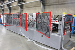 Alpha Series Panel Line Dual Height Post