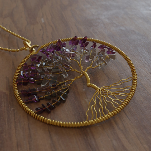 Tree Gold Necklace