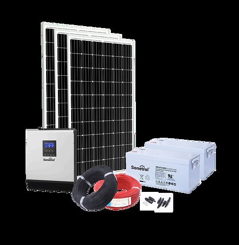 Solarpack Trendline - 1000 Off Grid & Backup Pv System