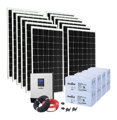 Solarpack Trendline - 4000 Off Grid & Backup Pv System