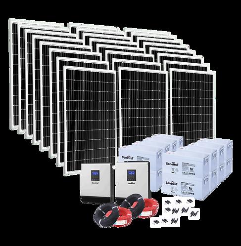 Solarpack Trendline - 8000 Off Grid & Backup Pv System