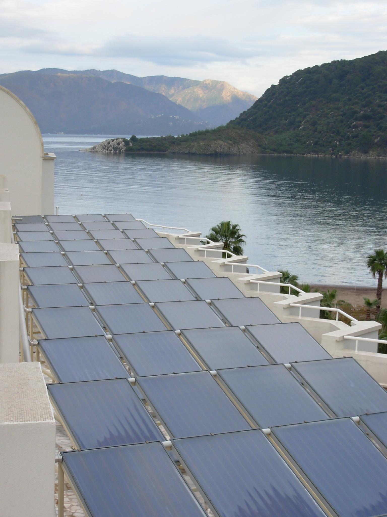 aqua otel çatı üstü montaj 4