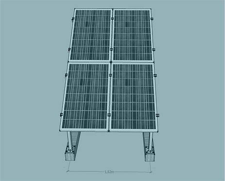 STS V TR -2/2 Üniversal Fotovoltaik Taşıyıcı Sehpa
