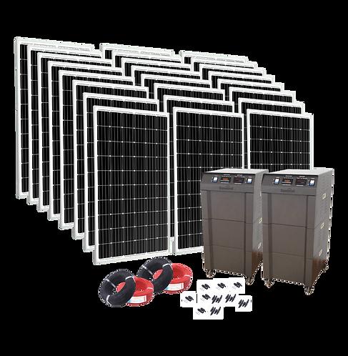 Solarpack Comfortline - 8000 Off Grid & Backup Pv System
