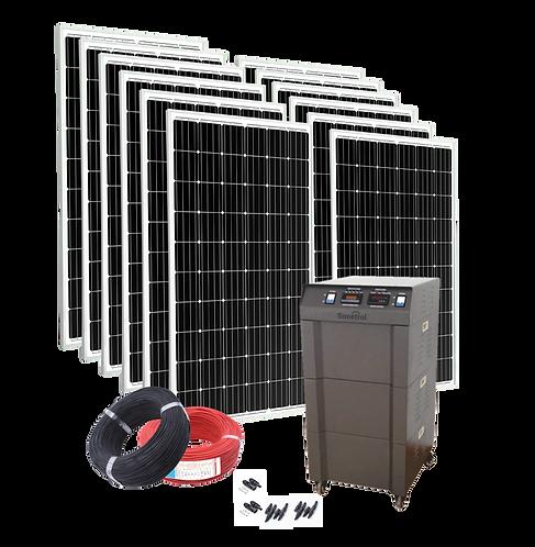 Solarpack Comfortline - 4000 Off Grid & Backup Pv System