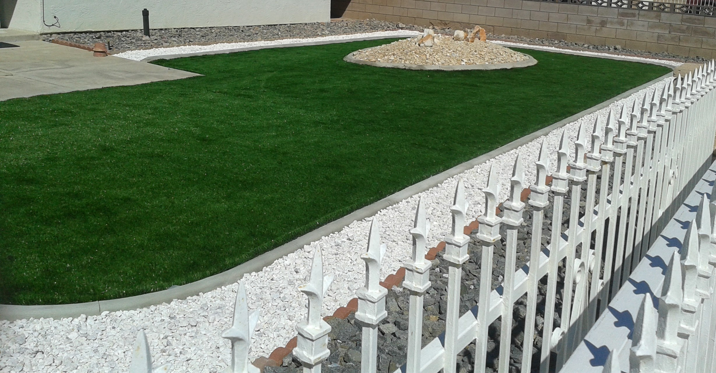 After Artificial Grass