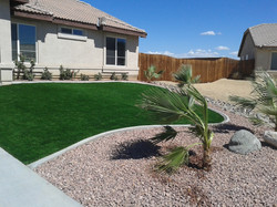 After Artificial Grass