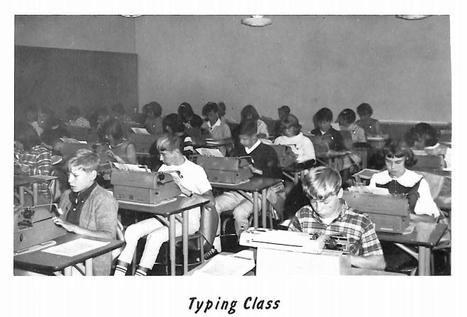 Jefferson.History.Pic.1966.Typing.Class.