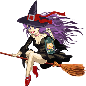 Witch_with_Lantern_PNG_Clipart.png