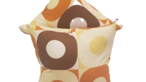 Custom Print Circle  Pillows