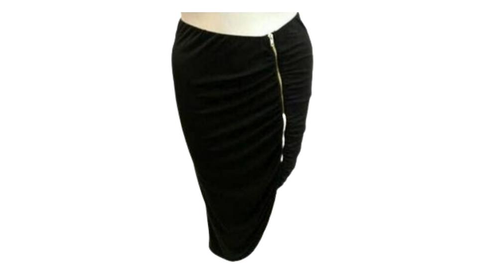 3X Libian Black Skirt