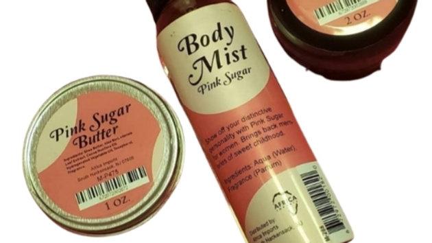 Pink Sugar Body Set