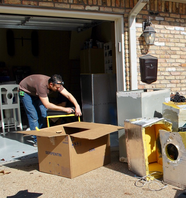 KMAC installation crew