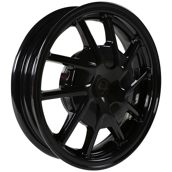 NCY Hustler Front Wheel (Black, 10 Spoke) ; Honda Dio, Sym D