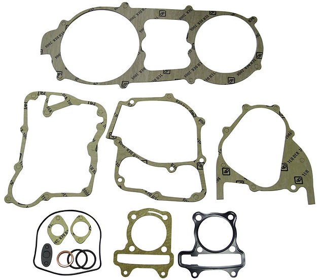 NCY Engine Gasket Set (58.5 mm); Genuine, GY6