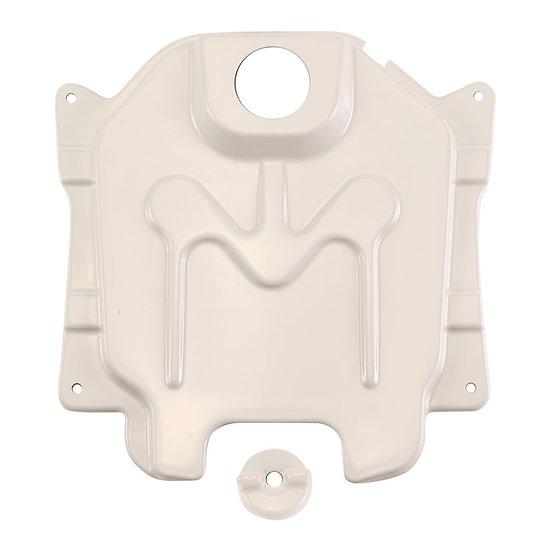 NCY Gas Tank Cover (Composite, Primered); Honda Ruckus