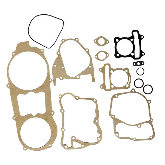 NCY Engine Gasket Set (62 mm); Genuine, GY6