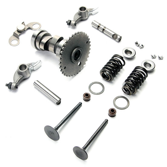 CAMSHAFT AND VALVE TRAIN ASSEMBLY GY6
