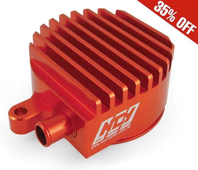 Billet High-flow Crank Breather( Red) ; Yamaha Zuma 125 NCY