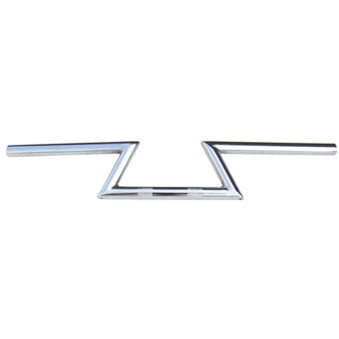 "NCY Handlebars (Chrome, Z Bar, Narrow, 7/8""); Universal"