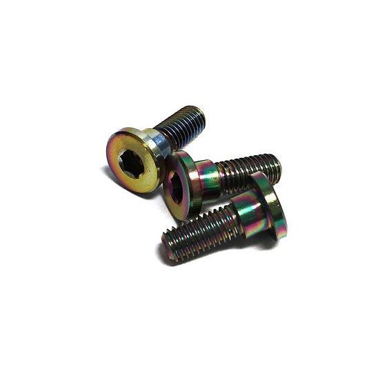 NCY Stainless Brake Disc Screws (Electroplated); Honda PCX