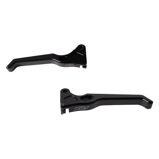 NCY Lever Set (Drum Type, Black); Honda Ruckus