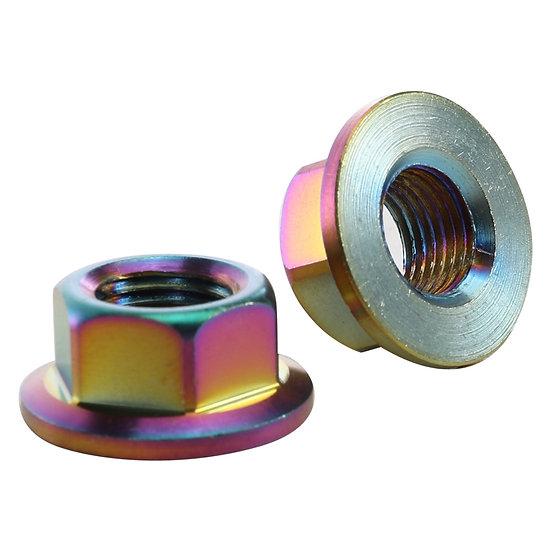 NCY Axle Nuts (Pair, 12mm); GY6, Buddy, RH50