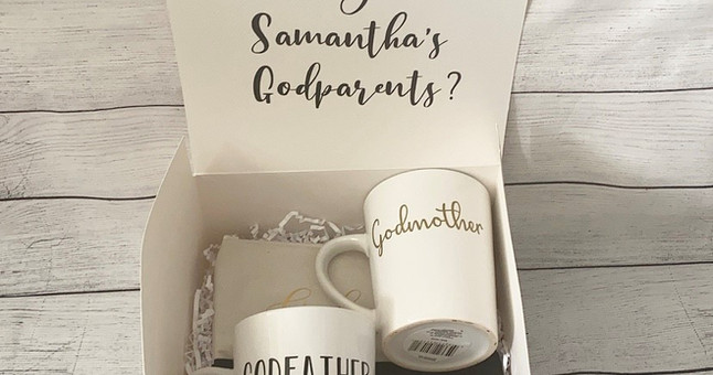 Will you be my godparents giftbox