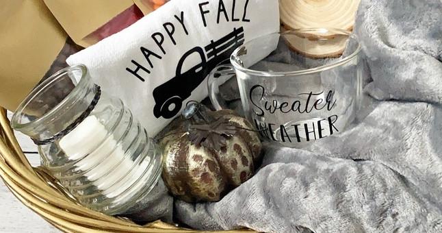 fall gift basket